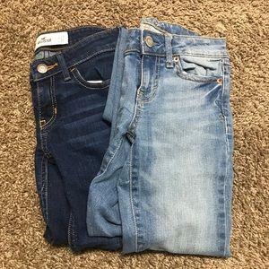 Hollister and Aeropostale Jean bundle